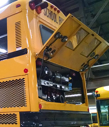 School Bus Repair & Service - Buswest