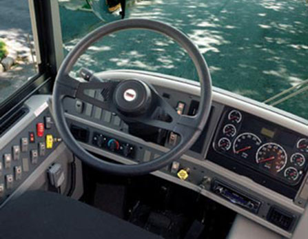 Interior HDX School Bus - Buswest