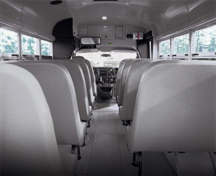 interior minotour school bus - buswest