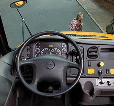 Interior Saf t C2 school bus - buswest