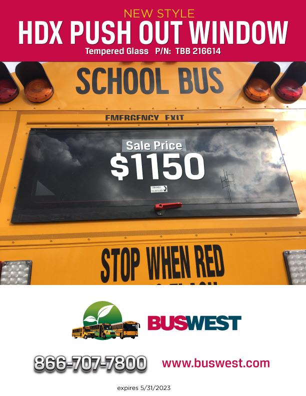 School Bus Parts Flyer - Buswest