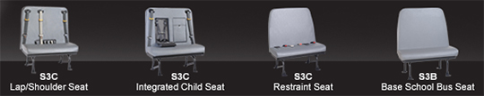 School Bus Seating Option - Buswest
